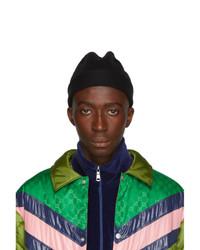 schwarze Mütze von Gucci