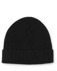 schwarze Mütze von J.Crew