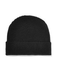 schwarze Mütze von Johnstons of Elgin
