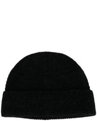 schwarze Mütze von Lanvin