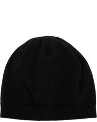 Schwarze Mütze von Maison Michel