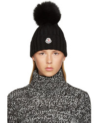 schwarze Mütze von Moncler
