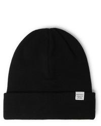 schwarze Mütze von Norse Projects