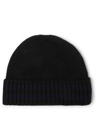 schwarze Mütze von Oliver Spencer