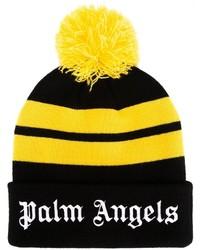 Schwarze Mütze von Palm Angels