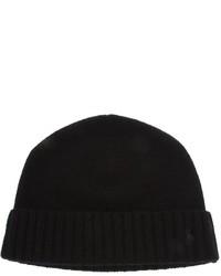 schwarze Mütze von Ralph Lauren