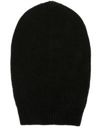 schwarze Mütze von Rick Owens