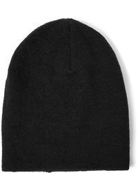 schwarze Mütze von Saint Laurent