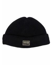 schwarze Mütze von VERSACE JEANS COUTURE