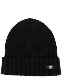 schwarze Mütze von Versace