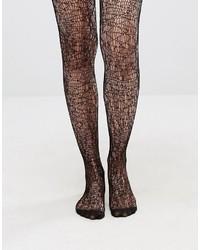 schwarze Netzstrumpfhose von Asos