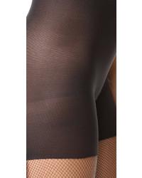 schwarze Netzstrumpfhose von Spanx