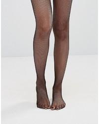 schwarze Netzstrumpfhose von Wolford