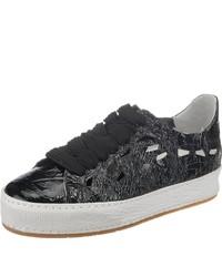 schwarze niedrige Sneakers von A.S.98