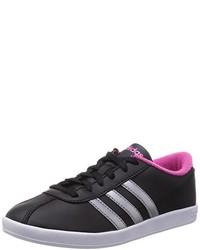 schwarze niedrige Sneakers von adidas