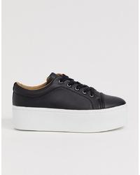 schwarze niedrige Sneakers von ASOS DESIGN