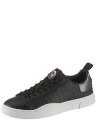 schwarze niedrige Sneakers von Diesel