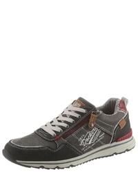 schwarze niedrige Sneakers von Dockers by Gerli
