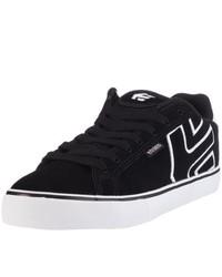 schwarze niedrige Sneakers von Etnies
