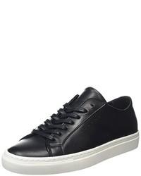 schwarze niedrige Sneakers von Filippa K