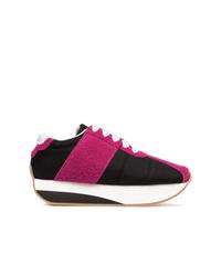 schwarze niedrige Sneakers von Marni