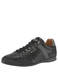 schwarze niedrige Sneakers von Pantofola D'oro