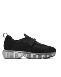schwarze niedrige Sneakers von Prada