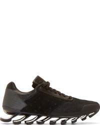 schwarze niedrige Sneakers von Rick Owens