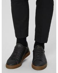 schwarze niedrige Sneakers von Selected Homme