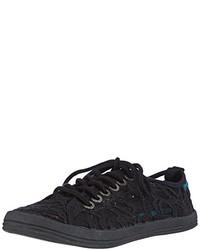 schwarze niedrige Sneakers von Unbekannt