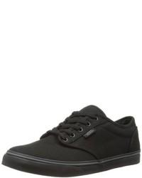 schwarze niedrige Sneakers von Vans