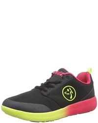 schwarze niedrige Sneakers von Zumba Footwear