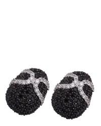 schwarze Ohrringe von Alivna