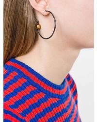 schwarze Ohrringe von Maria Black