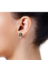 schwarze Ohrringe von Pearls & Colors