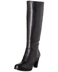 schwarze Overknee Stiefel von Neosens