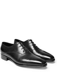 schwarze Oxford Schuhe