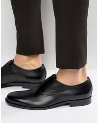 schwarze Oxford Schuhe von Hugo Boss