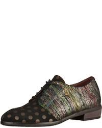 schwarze Oxford Schuhe von Laura Vita