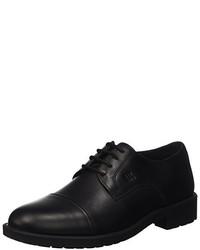 schwarze Oxford Schuhe von Lumberjack