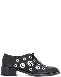 schwarze Oxford Schuhe von Proenza Schouler