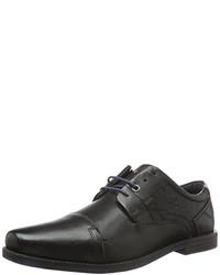 schwarze Oxford Schuhe von s.Oliver