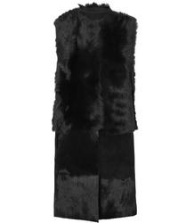 schwarze Pelzweste von Karl Donoghue
