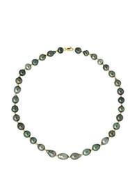 schwarze Perlenkette von Pearls & Colors