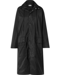 schwarze Regenjacke von Balenciaga