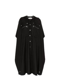 schwarze Regenjacke von Chloé