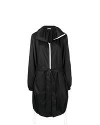 schwarze Regenjacke von Givenchy