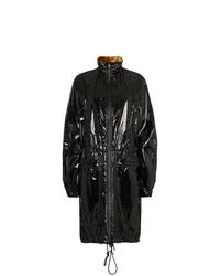 schwarze Regenjacke von Haider Ackermann