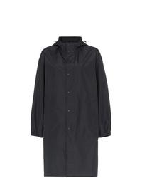schwarze Regenjacke von Helmut Lang