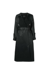 schwarze Regenjacke von Isabel Marant